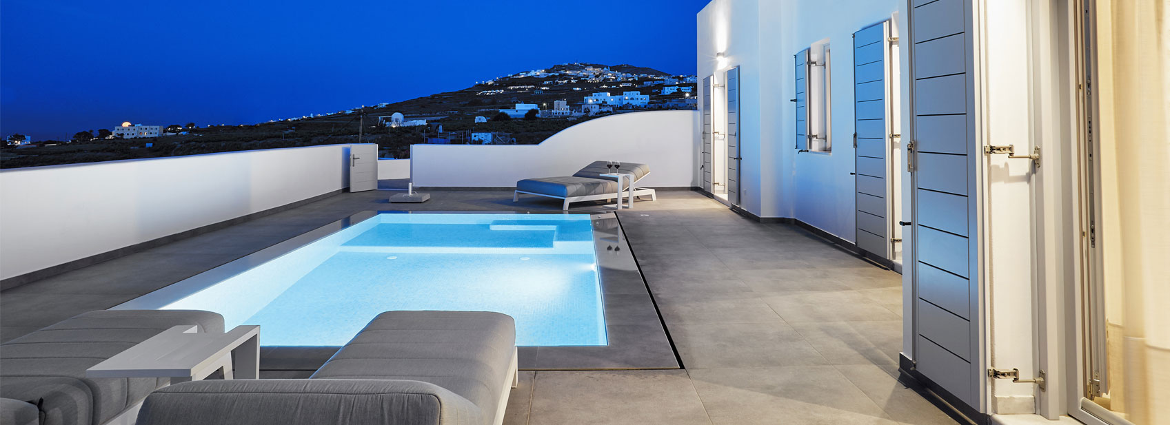 Santorini 5 star spa hotel De Sol | 5 star Accommodation in Santorini
